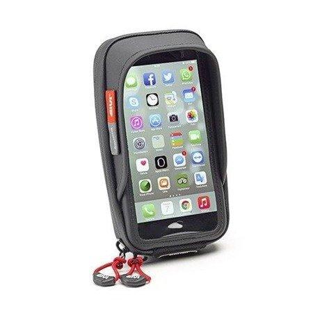GIVI S957B MOCOWANIE SMARTHPHONE/GPS (IPHONE 6 PLUS, GALAXY S6, NOTE 4) MOCOWANY NA KIEROWNICĘ / LUSTERKO